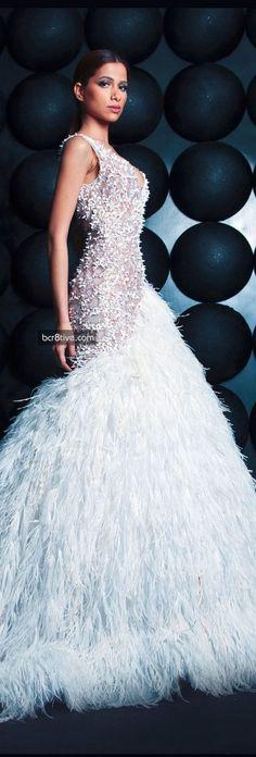 9a29fb2f9e Nicolas Jebran Spring Summer 2013 Haute Couture. EvanFeather FashionCouture  ...