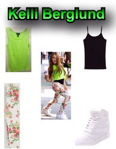 My edit on Kelli Berglund