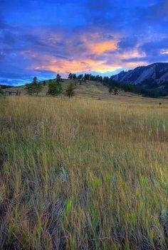 Chautauqua Meadow - Boulder Mountain Park - Colorado