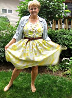 wonderfullymade1.blogspot.com  vintage sheet dress