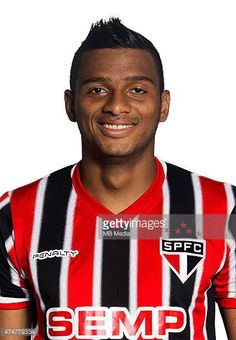 Reinaldo of Sao Paulo Football Clube poses for a portrait on August 14 2014 in Sao PauloBrazil