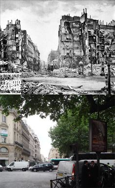 The opulent Rue Royale was reduced to smoldering ruins during the Paris Commune. Thankfully, it was rebuilt!