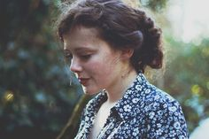 A beautiful portrait. Untitled, by Louise Spence, via Flickr.