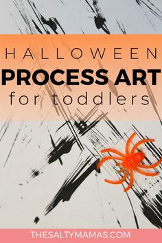 Need a craft or art project to help your toddler or preschooler celebrate Halloween? We've got super Halloween Activities For Toddlers, Halloween Crafts For Toddlers, Halloween Art Projects, Cool Art Projects, Toddler Halloween, Art Activities, Preschool Activities, Toddler Art Projects, Toddler Crafts
