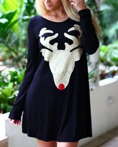 2017 best womens long sleeve dress ·  https   www.tshirtxy.com christmas-reindeer-t- ee011d57b18e