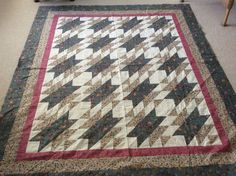 Quilt made by Sharon Theriault