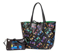 Check out our Cart Path Only Sydney Love Ladies Golf Reversible Tote! Find the best golf gear and accessories at Lori's Golf Shoppe. Click through now to see this!