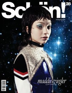 Maddie Ziegler modeled for Schön! Magazine [2015]