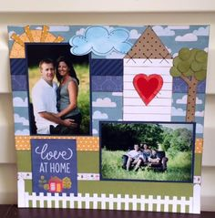 Happy Home Front Porch Kit- Single Layout by Lynette Chiles