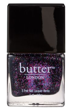 butter LONDON '3 Free' Nail Lacquer - The Black Knight | Nordstrom