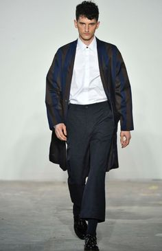 Carlos Campos fashion designer shows a eclectic and minimal Menswear/Womenswear collection in New York City.