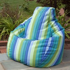 Teardrop Beanbag Seaside, $259, by Gold Medal Products !!