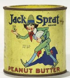peanut butter tin | Peanut Butter pry lid tin. Highly collectible and sought-after tin ...