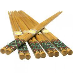 Bamboo Chopsticks Diamond Pattern