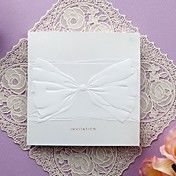 Simple Embossed Tri-fold Wedding Invitation (... – USD $ 39.99