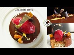 Chocolate Royal Entremet / Trianon – Bruno Albouze – THE REAL DEAL - YouTube