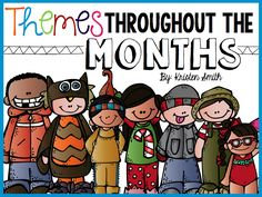 Freebie-- grab a calendar of themes that you can implement in your classroom!