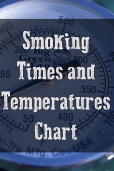 This table of times and temperatures for smoking meat gets more views than nearly any other page on my website and there are probably still people who aren't aware that it exists. Check it out and bookmark it for quick reference. Let me know if you see th Smoker Grill Recipes, Smoker Cooking, Grilling Recipes, Grilling Tips, Vegetarian Grilling, Healthy Grilling, Barbecue Recipes, Barbecue Sauce, Vegetarian Food