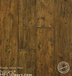 Our wood floors- in hallways, great room, office, and kitchen. Provenza African Plains Raffia Hevea Available at HFOfloors.com.