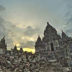 The ruins of the ancient old Budhist temple candi sewu  Yogyakarta Indonesia  #indonesiaBebasSampah #style#cool#sky#adventure #beautiful #nice #amazing#nature #travelscout#instanature #vscocam #vscodaily #instadaily #instagood #wonderfulIndonesia #worldbestshot #worldbestshot_ig #bestpartofindonesia #lingkarindonesia #vscocam #vscodaily #livefolk #liveauthentic#potd #sunset by yanuarwu