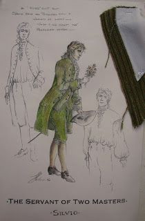 Costume Designer: Servant of Two Masters College Subjects, Costume Design Sketch, Drama, Sketches, Masters, Costumes, Illustration, Pictures, Drawings