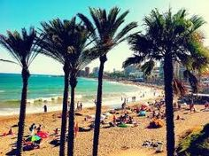 My favourite holiday beach in Benalmadena Spain