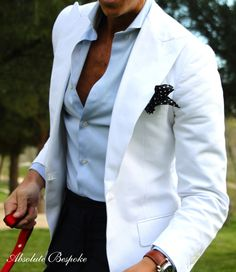 Absolute Bespoke White Jacket