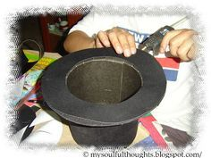 Heart of Rachel: How To Make a Top Hat (Yohan's Costume) pinner says: going to use as a guide for my little mans Sir Topham hatt costume! :)