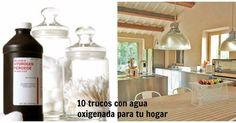 10 trucos con agua oxigenada para tu hogar, ¡el producto estrella!