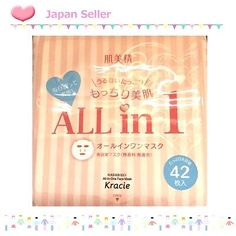 JAPAN-New-Hadabisei-Kracie-Face-Mask-All-in-ONE-42-Sheets-Japanese-Skin-Care-F-S