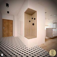 Znalezione obrazy dla zapytania wieszaki drewniane kropki