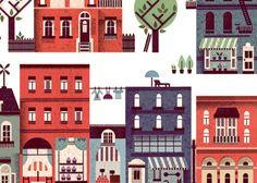 by lotta nieminen Character Creation, Character Design, Lotta Nieminen, Catching Fireflies, Carl Larsson, City That Never Sleeps, Pattern Illustration, City Maps, Flat Design