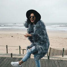 lama fur coat