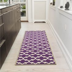 Ottomanson Glamour Collection Contemporary Moroccan Trellis Design Kids Lattice Area Rug (Non-Slip) Kitchen and Bathroom Mat Rug, X Orange >>> Be sure to check out this awesome product. (This is an affiliate link) Trellis Design, Lattice Design, Trellis Pattern, Purple Kitchen, Orange Kitchen, Machine Washable Rugs, Theme Color, Contemporary Rugs, Kitchen Contemporary
