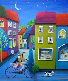"""Night Ride"" by Iwona Lifsches"