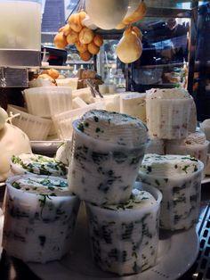Fresh ricotta cheese at Eataly #Roma