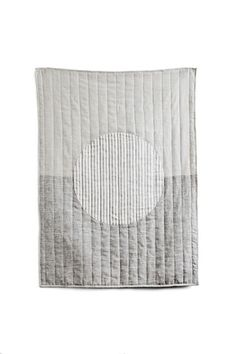 stripe moon quilt baby