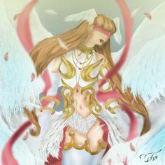 Divine #draw #illustration #digitalart #angel