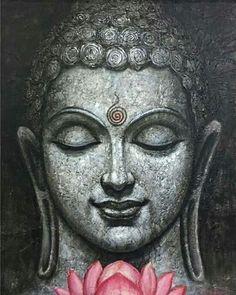 Buda Painting, Photo Zen, Buddha Canvas, Buddha Buddha, Buddha Artwork, Hannya Tattoo, Buddha Tattoos, Small Canvas Art, Indian Art Paintings