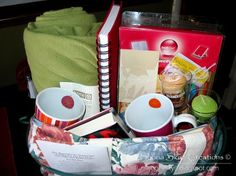 The Bookworm's Gift / Raffle Basket - Everything you need for a cozy weekend of reading - add a Bookstore gift card