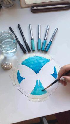 Art Drawings Sketches Simple, Pencil Art Drawings, Colorful Drawings, Doodle Art Drawing, Easy Doodle Art, Mandala Drawing, Food Drawing, Mandala Art Lesson, Mandala Doodle