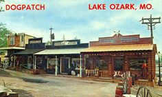Dogpatch at the Lake of The Ozarks...doesn't look like this anymore