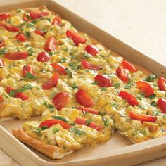 Chicken Enchilada Pizza - The Pampered Chef®