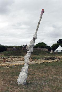 - porte renaud - Mensch #1 fragment 1/13 august 2017 Saint-Saturnin-du-Bois, France  www.porterenaud.com Fragment 1, Saint Saturnin, France, The Visitors, Statue Of Liberty, Saints, Sculpture, Artwork, Travel