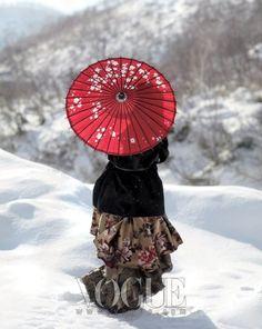Snowflakes, Vogue Korea January 2010