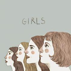 Girls  by Anna Pedre