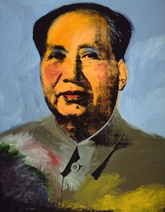 Mao - Andy Warhol (1973), Art Institute of Chicago (not on display anymore)