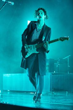 Matty Healy at Meadowbrook Music Festival in Rochester Hills, Michigan by Scott Legato