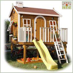 Foto Casa de madera para niños Super Aldea