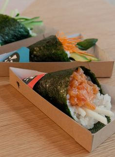 London's first temakeria (Delicious fresh sushi, wrapped in a crispy seaweed cone - perfect for eating by hand), Yoobi, takes inspiration from Brazil and pushes the sushi experience in an exciting new direction. Yoobi's freshly made temaki rolls, featuring uniquely developed flavour combinations, are served to eat in or enjoy on the go.